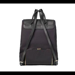 a09d9a3fe MinkeeBlue Bags | Black Work Laptop Gym Backpack Leather Nylon ...